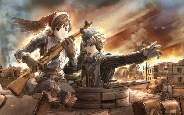 ValkyriaChronicles Wallpaper RoninHellAngel