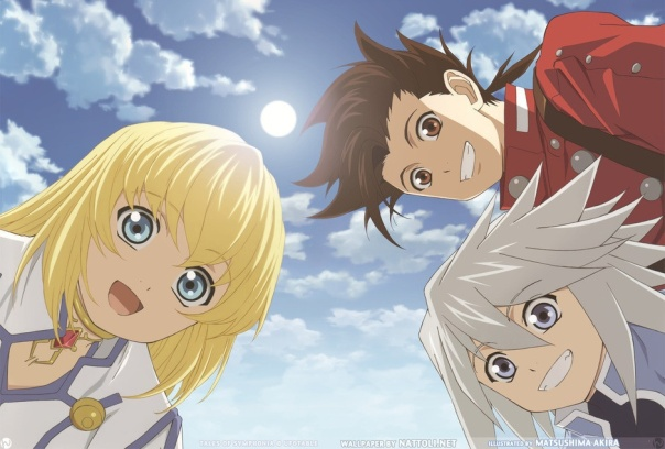 tales of symphonia wall