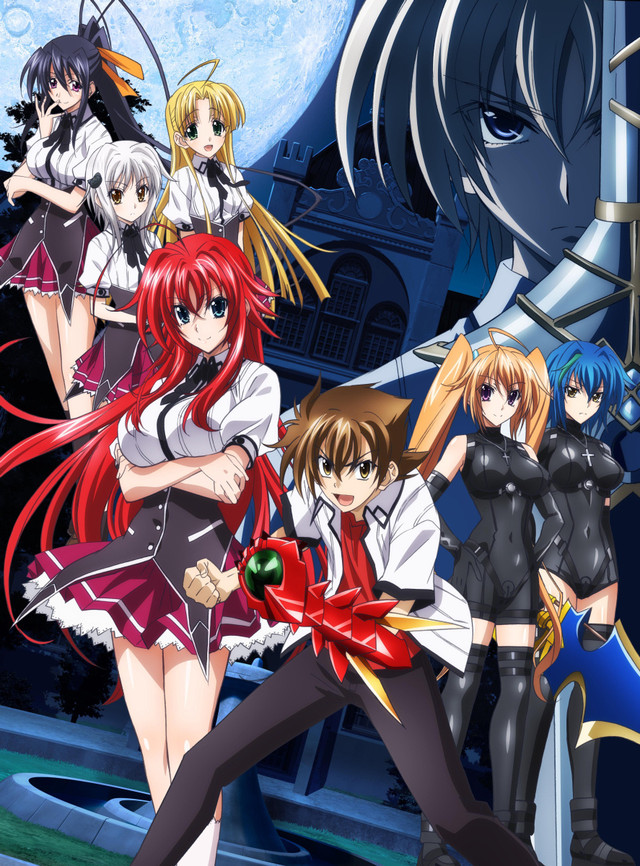 High School DxD New online Completo  Latino Subtitulado