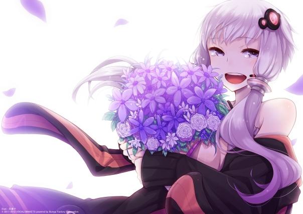 anime-girl-purple-flowers