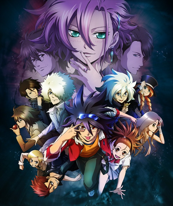 Phi Brain Kami no Puzzle 3rd Season