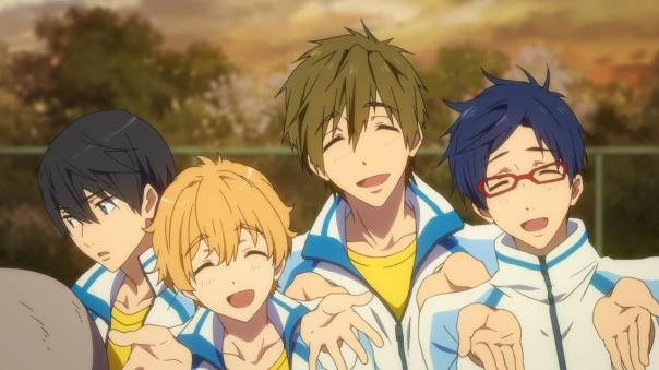 Free! Eternal Summer - 01