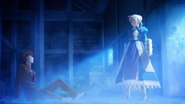 Fate Stay Night - Unlimited Blade Works - 01 screencap