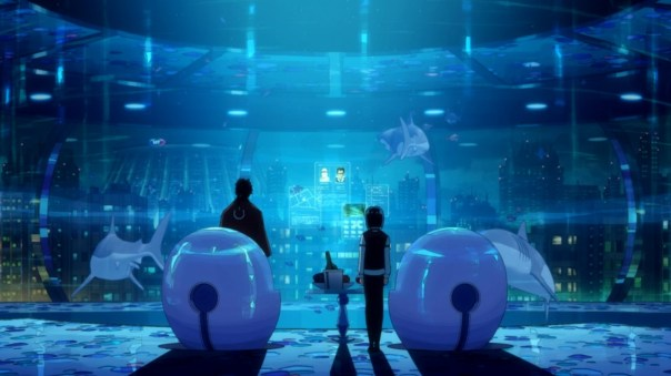 Dimension W aquarium
