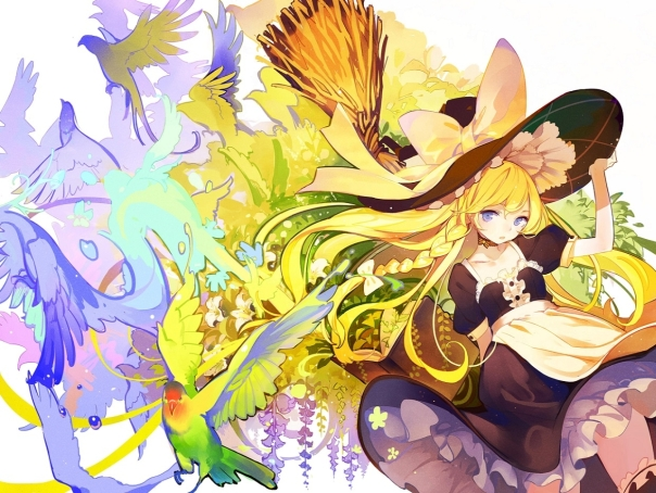 anime spring 16 birds
