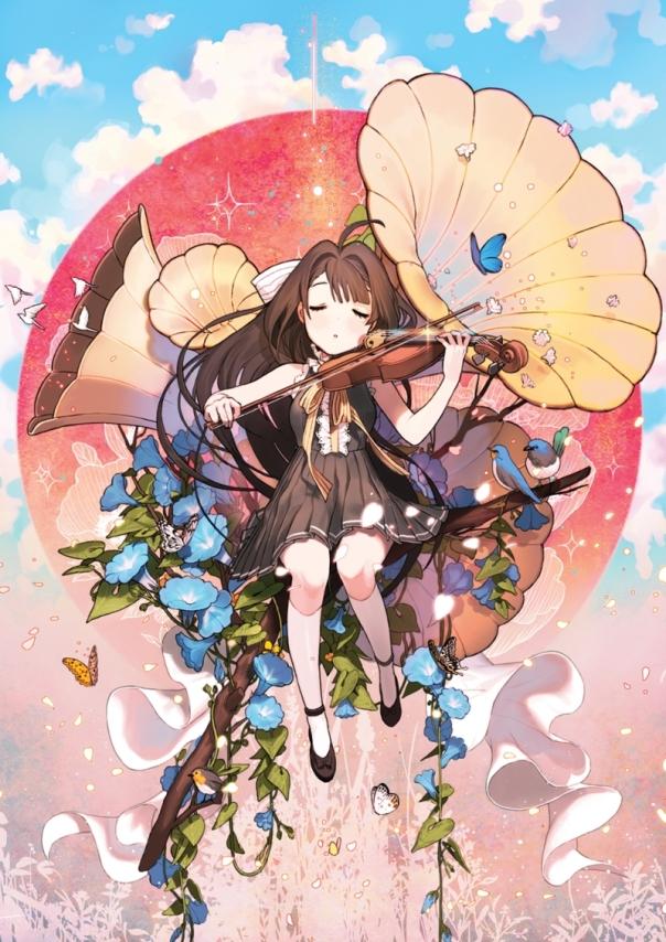 anime summer 2016 violinist